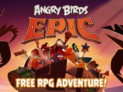 Заставка Angry Birds Epic