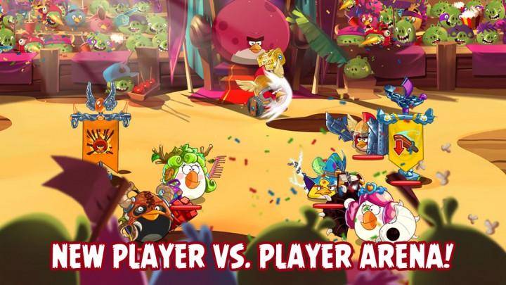 Битвы в Angry Birds Epic проходят весело и с огоньком
