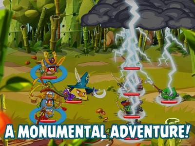 Angry Birds Epic можно было бы назвать Героями Меча и Магии в мире птичек