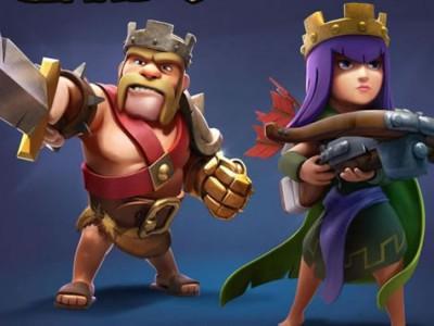 Король и королева - мегаюниты Clash of Clans