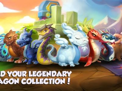 Собирай коллекции из разных зверей и драконов
