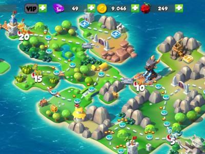 Карта острова драконов