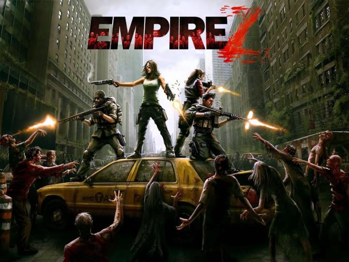 Заставка игры намекает на битвы с зомби
