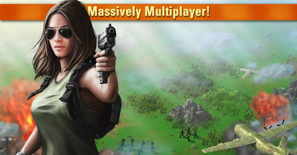 Игра рассчитана на массовый мультиплеер