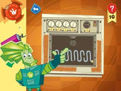 В игре можно даже починить электропечку с духовкой