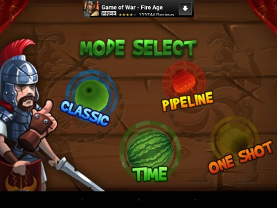 игра Fruit Slice - клон Fruit Ninja