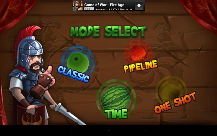 игра Fruit Slice - клон Fruit Ninja