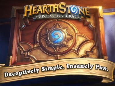 Заставка игры Hearthstone