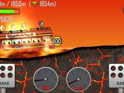 Пожарная машина мчится по аду