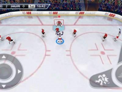 Трудно поверить, что это не съемка настоящего хоккея