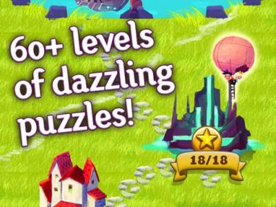В игре больше 60 уровней