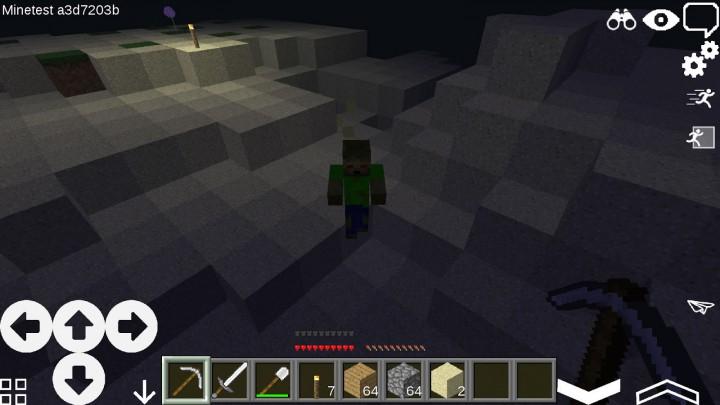 И зомби есть, и песок, и пещеры...