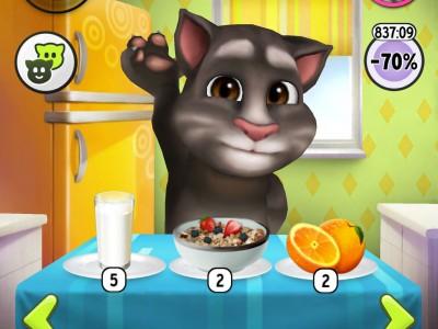 Давай покормим кота!