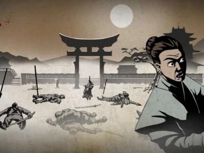 Графика, стилизованная под японские гравюры