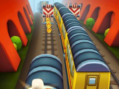 По крышам вагонов приятнее бежать, чем по рельсам