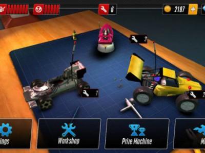 Вот так выглядит гараж в игре