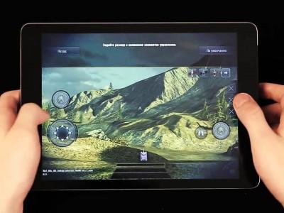 Управление в игре - джойстики и кнопки на экране