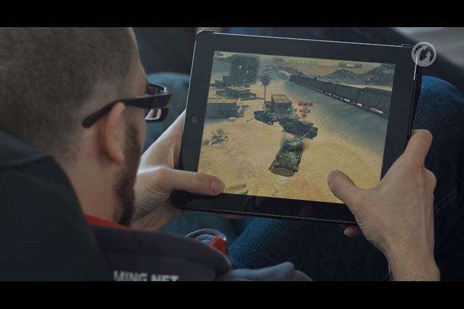 Теперь фанаты World of Tanks могут играть и на планшете
