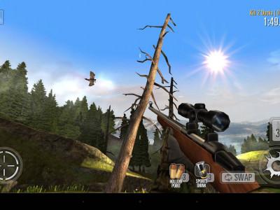 В  Deer Hunter 2014 отличные пейзажи, а охотиться можно не только на оленей
