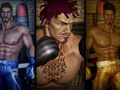 Бойцы мускулисты и свирепы