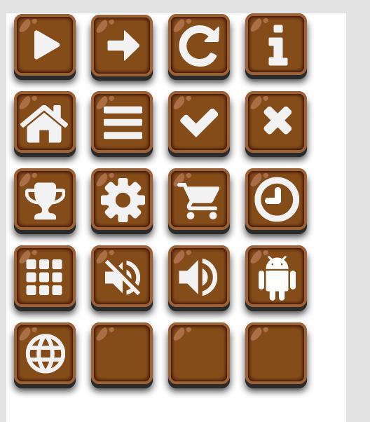 Шоколадные кнопки
